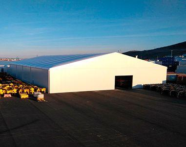 AluSpace removable industrial building in aluminium