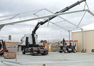 VALL building a relocatable warehouse
