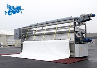 New model of tarpaulin washing machine Cavalltec