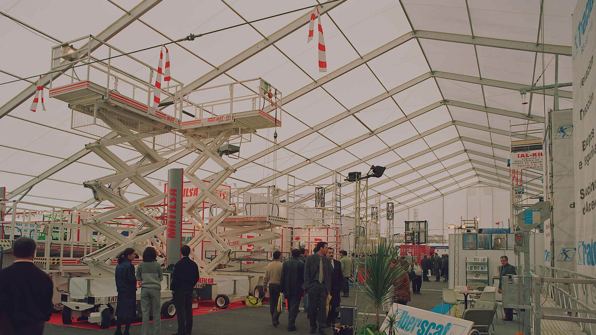 EcoSpace, our removable industrial tents