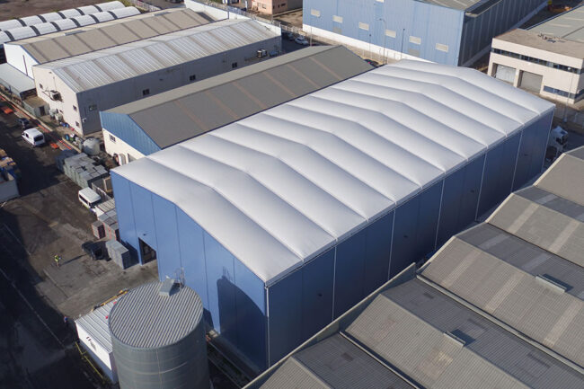 The advantages of steel in the removable industrial building