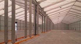 diaphanous spaces for logistics spaces