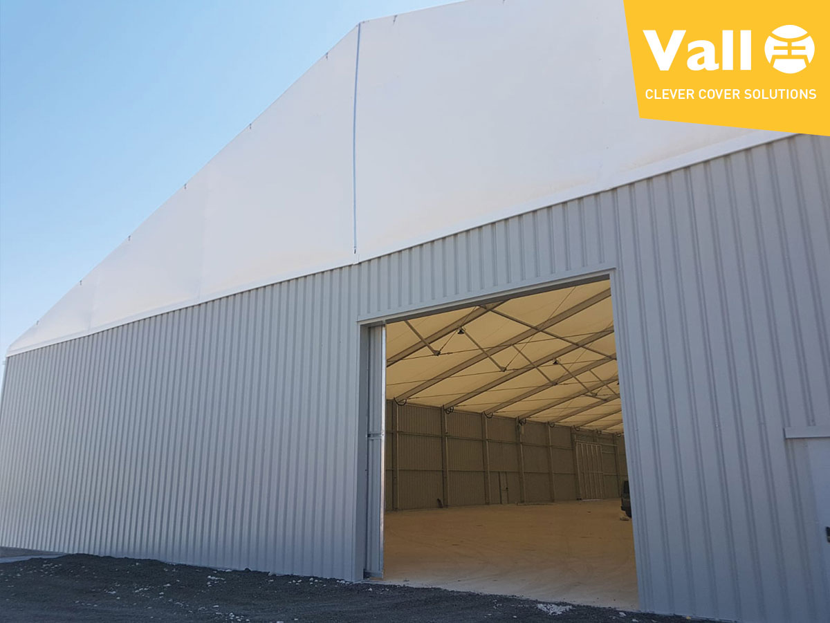 the 6 technical-sanitary requirements that make the dismountable industrial building the best agro-food warehouse