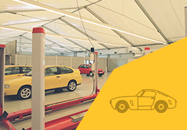 VALL automotive places with our removable industrial buildings