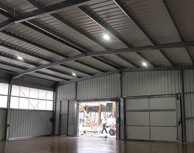 SteelSpace, resistant industrial warehouse in steel