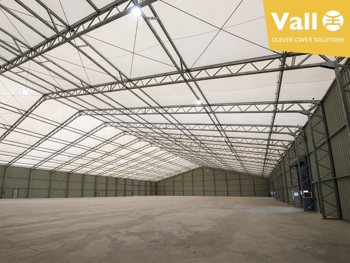 VALL removable industrial building - buy or rent