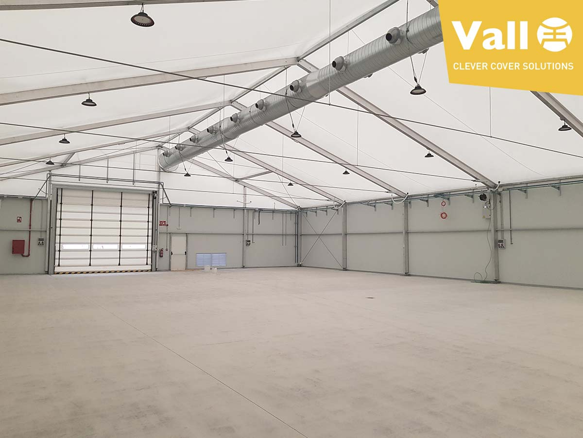 Vall high performance industrial tents
