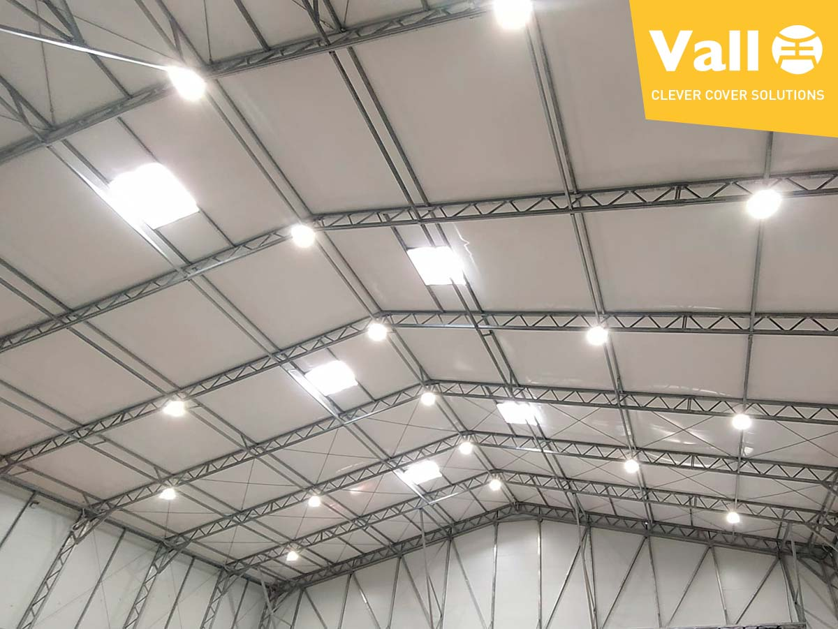 removable industrial warehouse building logistic centre
